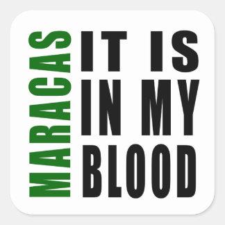 Maracas It Is In My Blood Stickers