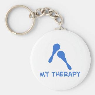 Maracas mi terapia llavero
