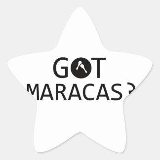 MARACAS music designs Sticker