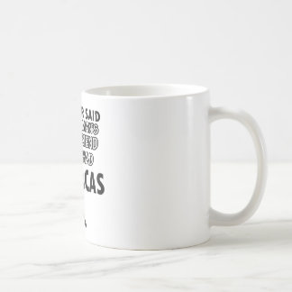 Maracas musical instrument coffee mug
