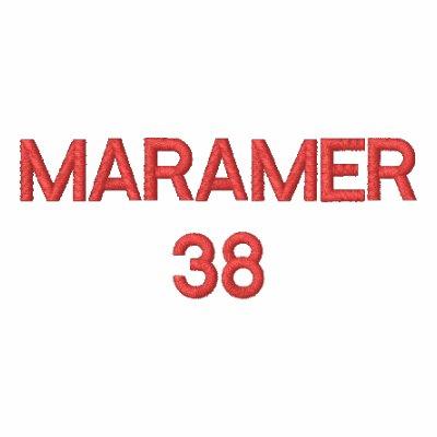MARAMER38 EMBROIDERED HOODY