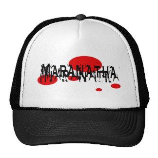Maranatha 2 rond rouge trucker hat