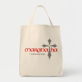 Maranatha Bolsa Lienzo