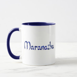 Maranatha Effet bleu Mug
