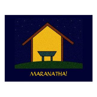 MARANATHA! POSTCARD