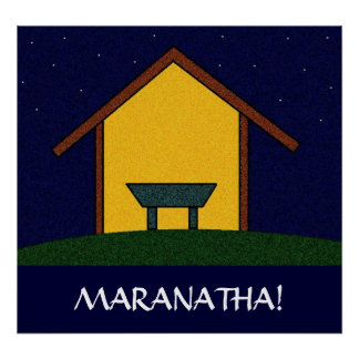 ¡MARANATHA! PÓSTER