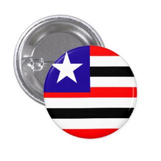 Maranhão, botón brasileño de la bandera del estado pin redondo de 1 pulgada