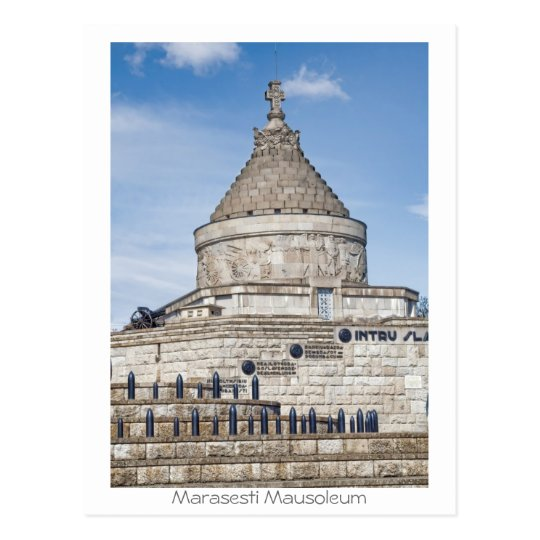 Marasesti Mausoleum Postcard
