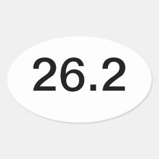 Marathon 26.2 Bumber Sticker