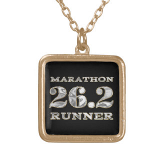 Marathon 26.2 Runner Necklace