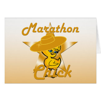 Marathon Chick #10 Card