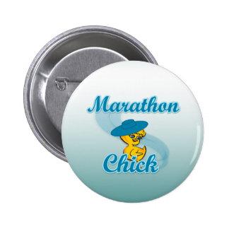 Marathon Chick 3 Buttons