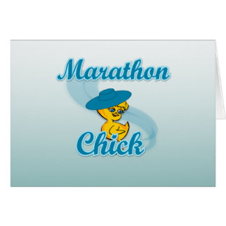 Marathon Chick #3 Card