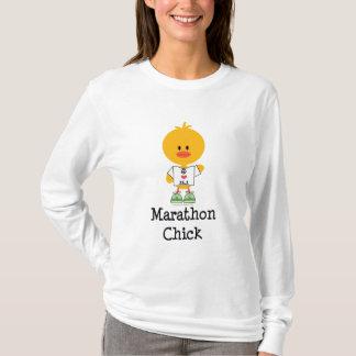 Marathon Chick Peace Love 26.2 Hoodie