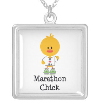 Marathon Chick Sterling Silver Necklace