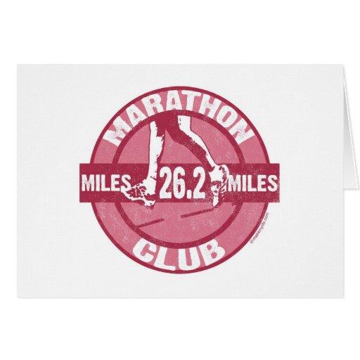 Marathon Club Cards