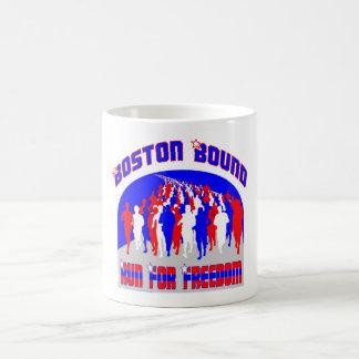 Marathon Coffee Cup -- Run for Freedom