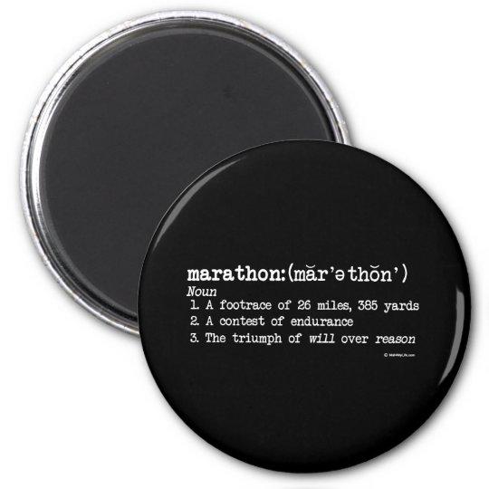 Marathon Definition Magnet