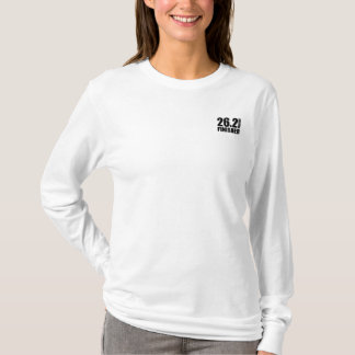 Marathon Finisher - Black Fitted Sweatshirt