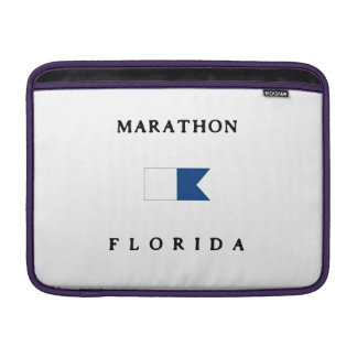 Marathon Florida Alpha Dive Flag MacBook Air Sleeve