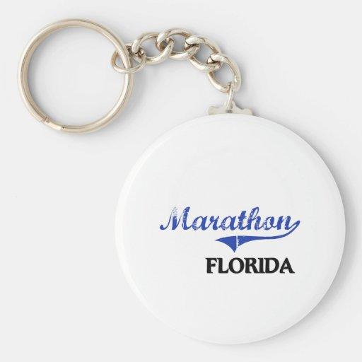 Marathon Florida City Classic Key Chain