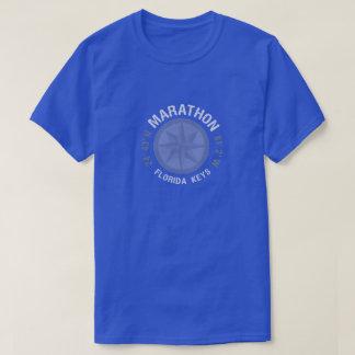 Marathon Florida Keys nautical latitude longitude T-Shirt