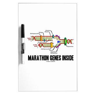 Marathon Genes Inside (DNA Replication) Dry-Erase Whiteboards