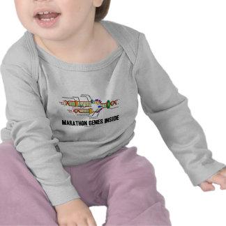 Marathon Genes Inside (DNA Replication) Tshirt