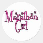 Marathon Girl Sticker