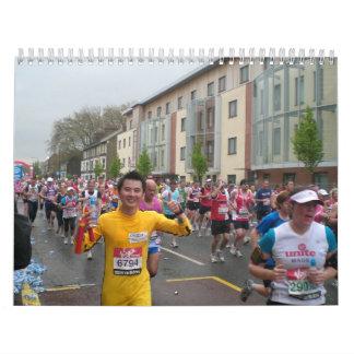Marathon in London 2010 Calendar