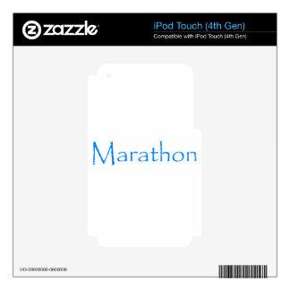 Marathon iPod Touch 4G Decal