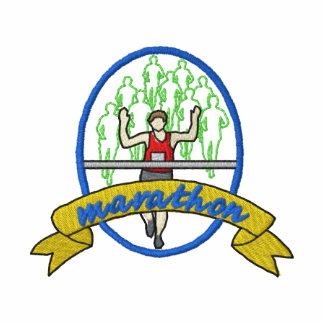 Marathon Logo Embroidered Shirt