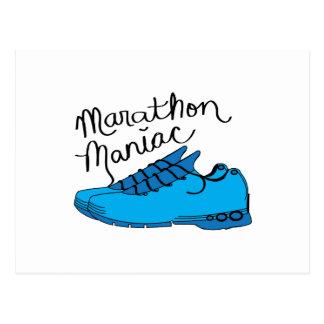 Marathon Maniac Post Cards