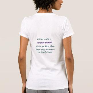 Marathon Novice Encouragement T Shirts