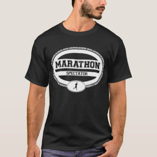 Marathon Oval for Athletes and Spectators T-Shirt