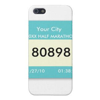 Marathon Race Bib on a  iPhone 5 Covers