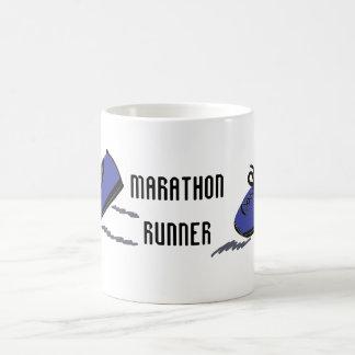 Marathon Runner - Blue Running Shoes Coffee Mug