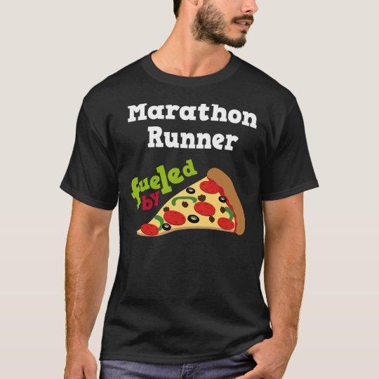 Marathon Runner (Funny) Pizza T Shirt