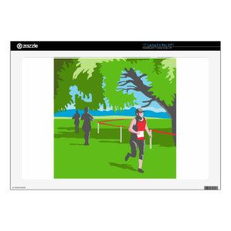 Marathon Runner Running WPA Skin For Laptop