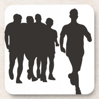Marathon Running Beverage Coaster