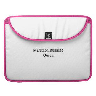 Marathon Running Queen Sleeves For MacBook Pro