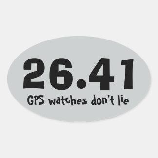 Marathon Running Sticker