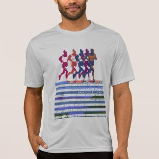 marathon . running t shirt