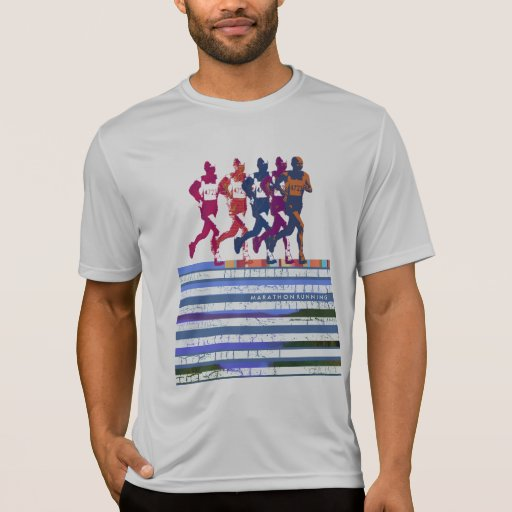 Marathon running t shirt zazzle for Marathon t shirt printing