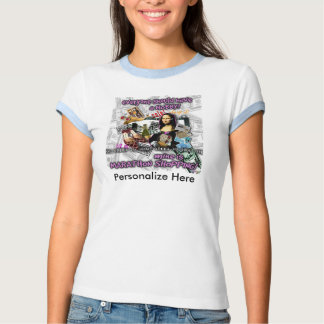 Marathon Shopping Hobby Mona Lisa T-shirt