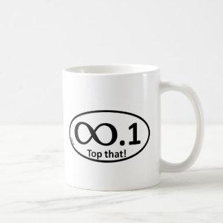 Marathon Sticker Parody Coffee Mug