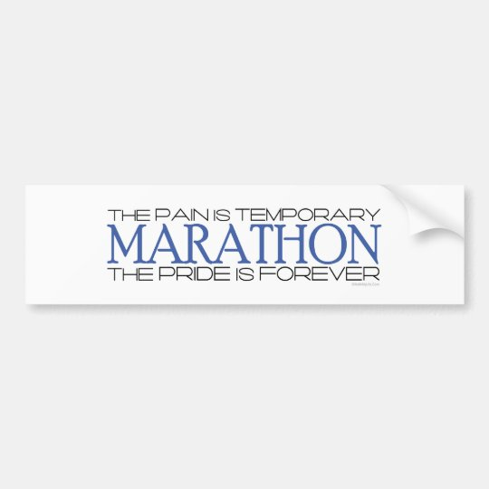 Marathon - The Pride is Forever Bumper Sticker