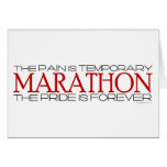 Marathon - The Pride is Forever – Congratulations Greeting Card