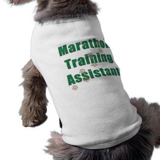Marathon Training Assistant Dog Tee