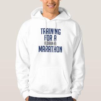 Marathon Training Time! Hoodie